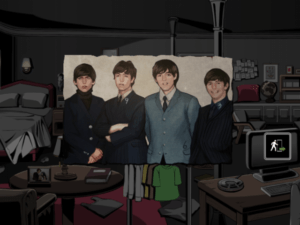 Room Break 1-4 Beatles Clue