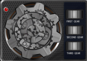 Room Break 2-4 Gear Puzzle