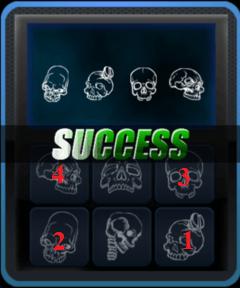 Room Break 2-4 Skull Lock Answer