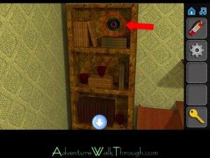 Escape If You Can Level 8 Bookshelf1