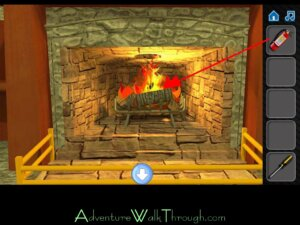 Escape If You Can Level 8 Fireplace1