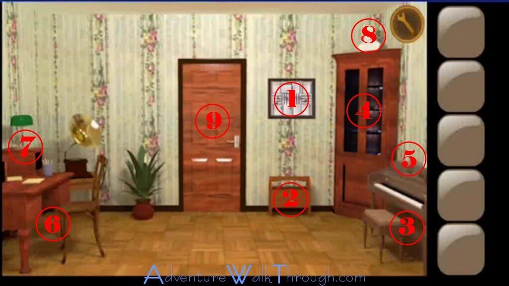 Secret Room Escape Walkthrough