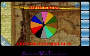 Can You Escape2 Level3 Color Wheel