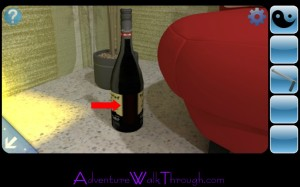 Can You Escape2 Level3 Wine Bottle