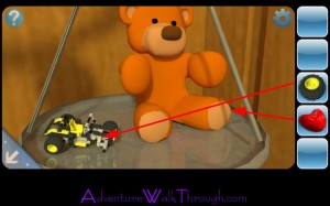 Can You Escape2 Level6 Teddy Bear and Toy Car