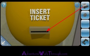 Can You Escape2 Level8 insert ticket