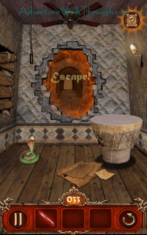 Escape Room Scrape