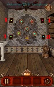 Escape Action Level 44 Count Flowers