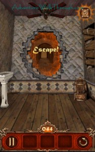Escape Action Level 44 Escaped