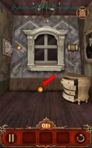 Escape Action Level 51 Get Orange Ball