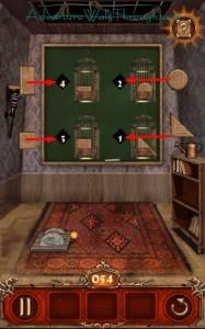 Escape Action Level 54 Put in Cages