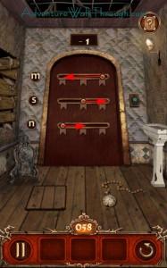 Escape Action Level 58 Move Slider