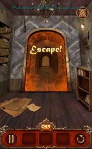 Escape Action Level 59 Escaped
