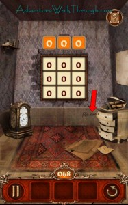Escape Action Level 68 Room Clue