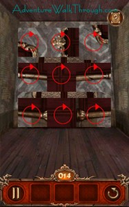 Escape Action Level14 Puzzle1