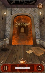 Escape Action Level27 Rope4