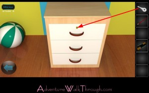 Lets Escape Stage4 Open Drawer