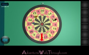 Lets Escape Stage9 Lift Dart Board