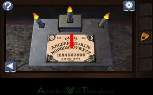 Can You Escape Horror Level 5 Look closely ouija board