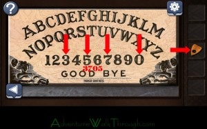 Can You Escape Horror Level 5 use planchette