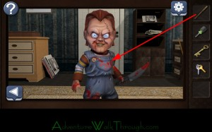 Can You Escape Horror Level1 attack chucky