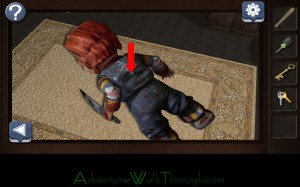 Can You Escape Horror Level1 chucky back