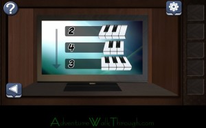 Can You Escape Horror Level4 Piano instruction