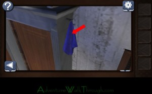 Can You Escape Horror Level4 blue cloth
