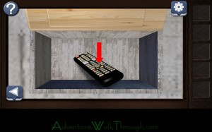 Can You Escape Horror Level4 get TV remote control