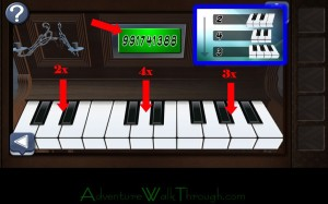 Can You Escape Horror Level4 keyboard