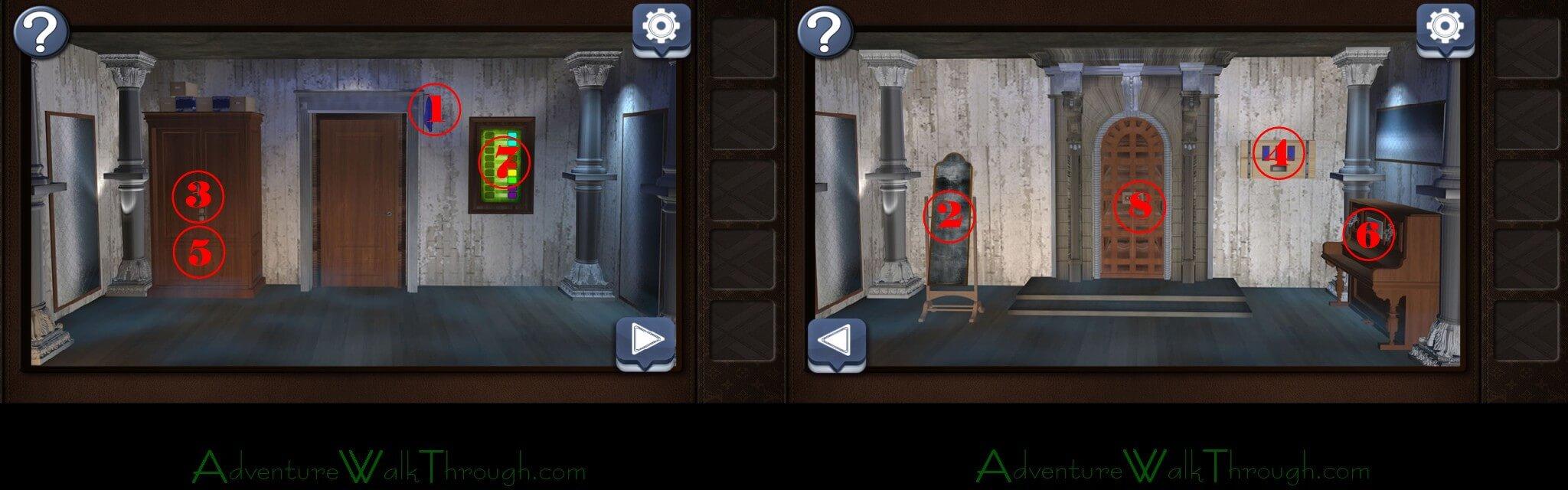 Escape The Room Horror  Walkthrough