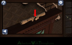 Can You Escape Horror Level7 Rifle scope
