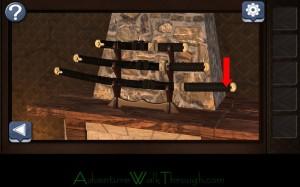 Can You Escape Horror Level7 Samurai Sword