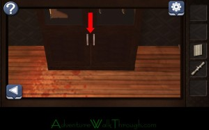 Can You Escape Horror Level7 open lower cabinet