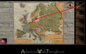 Escape Through History Level5 Map