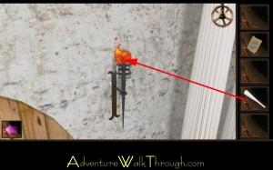 Escape Through History Level8 Ignite Torch