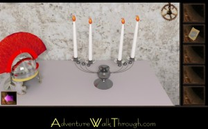 Escape Through History Level8 Lighted Candles