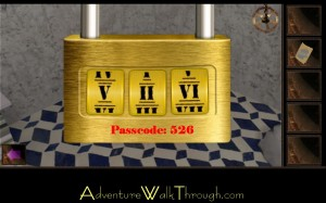 Escape Through History Level8 Passcode