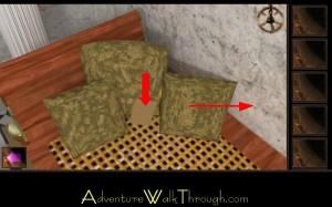 Escape Through History Level8 Pillow