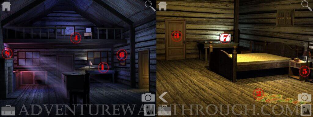 Cabin Escape Alice Story Part1 Walkthrough