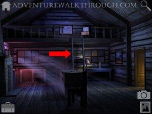 Cabin Escape Alice Story Part1 attic stair