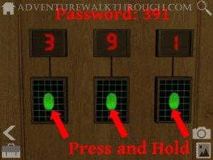 Cabin Escape Alice Story Part1 fingerprints