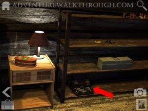 Cabin Escape Alice Story Part1 shelf