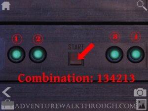 Cabin Escape Alice Story Part2 Combination password