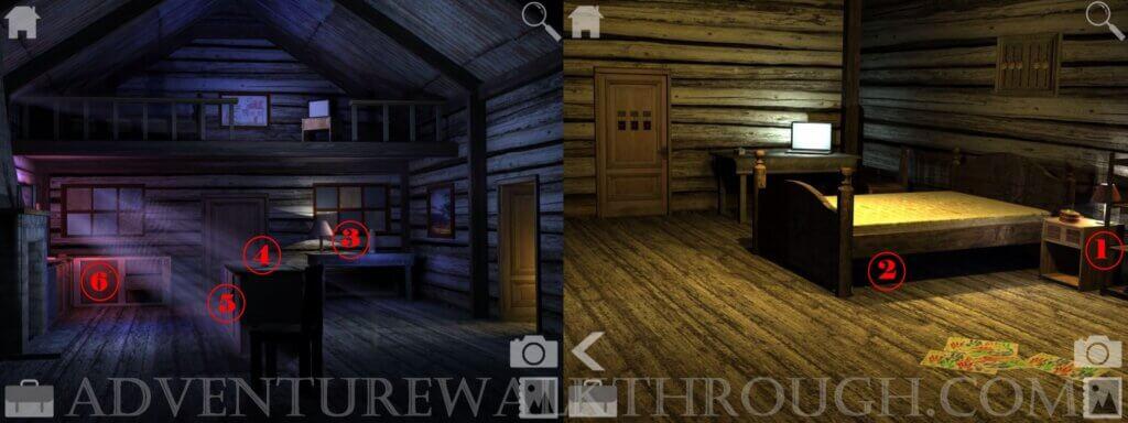 Cabin Escape Alice Story Part2 Walkthrough