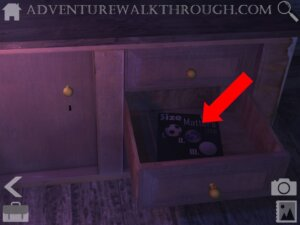 Cabin Escape Alice Story Part4 drawer