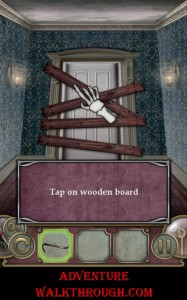 Escape The Mansion Level1 wooden board