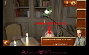 Can You Escape Adventure Level1 clue