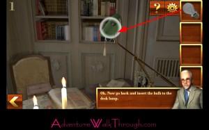 Can You Escape Adventure Level1 desk lamp