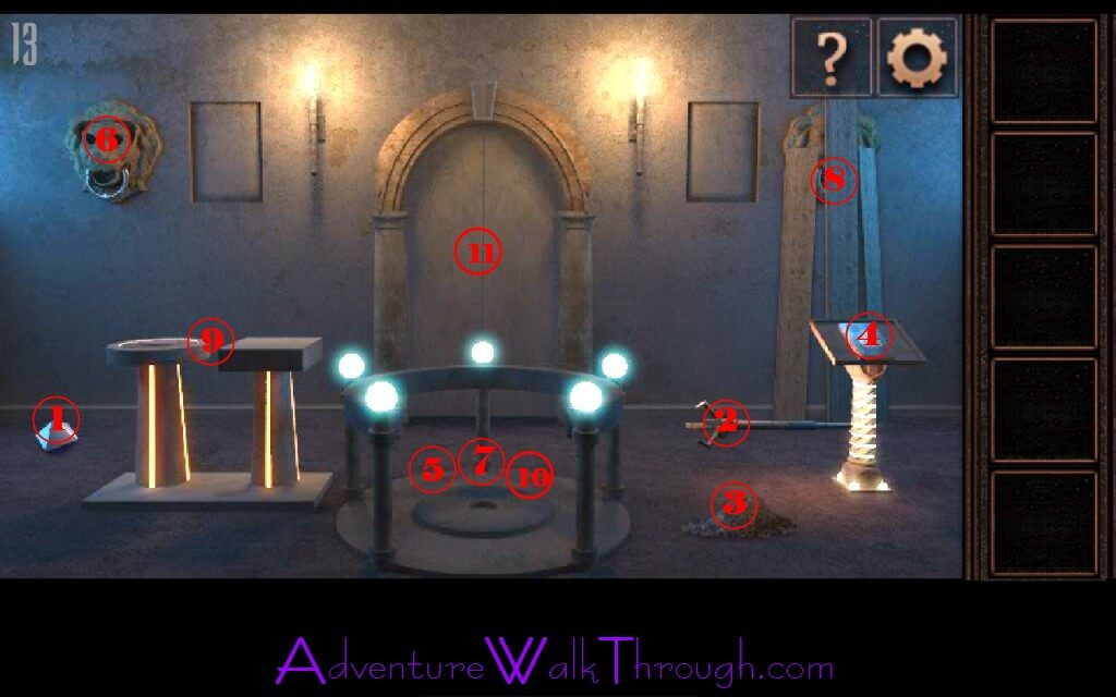 Can you escape tower level 13 for 13 floor escape game